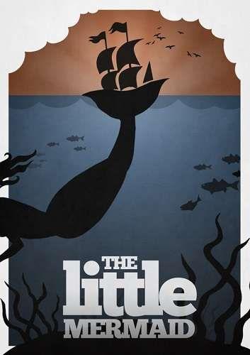Disney Minimalist Posters #Disney #Art #Posters http://www.trendhunter.com/