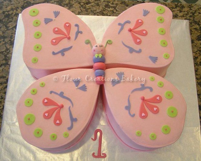 Butterfly Birthday Cake   We Know How To Do It Butterfly Birthday Cake