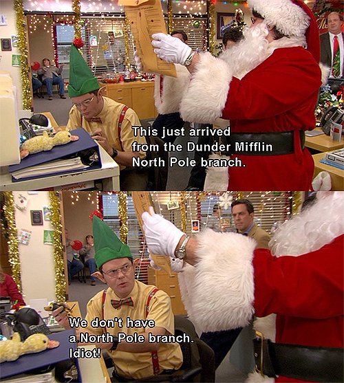 Christmas Quotes The Office Dwight QuotesGram