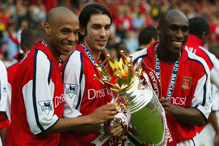 Henry, Pires & Campbell - Arsenal