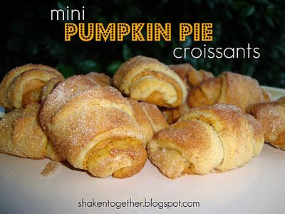 Pumpkin pIe Crossaints