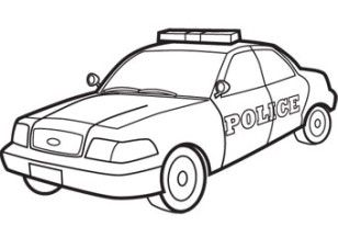 police hat coloring pages police car coloring page