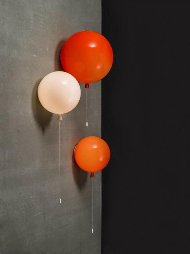 air balloon like lighting from brokis 7 Lighting Disguised as Colorful Helium Balloons by Boris Klimek www.canny.com.au #canny #light #kids