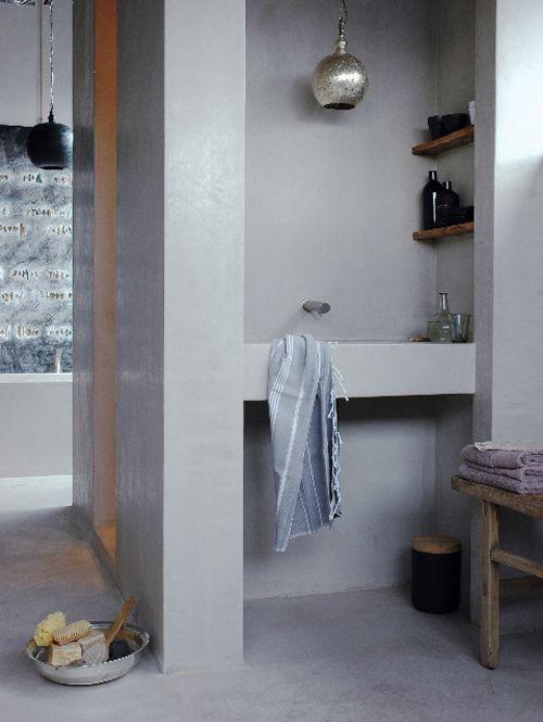 Verwonderlijk 5 badkamers zonder tegels | de Verbouwingsarchitect PS-63