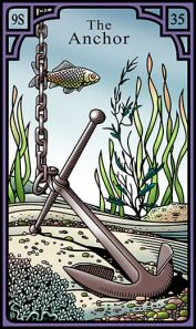 The Anchor for the Burning Serpent Oracle, Robert M Place