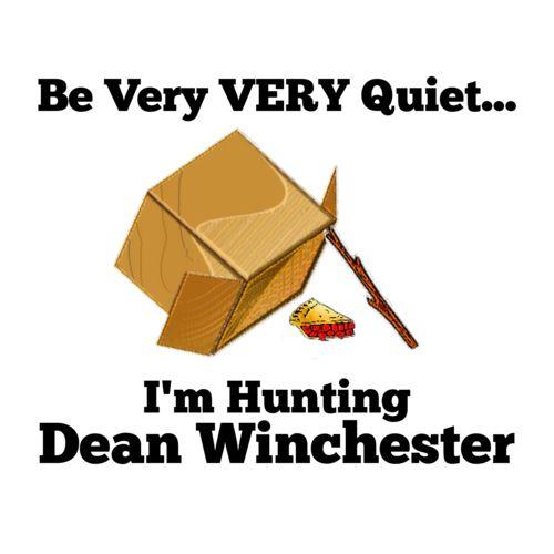 dean winchester + pie