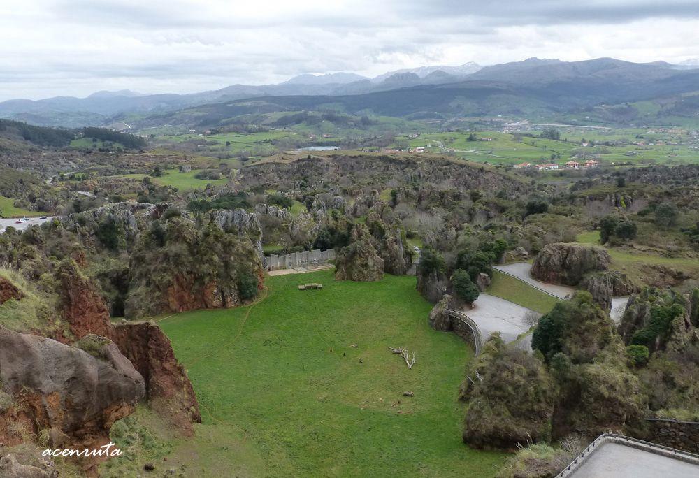 Vistas del Parque de la Naturaleza de Cabárceno