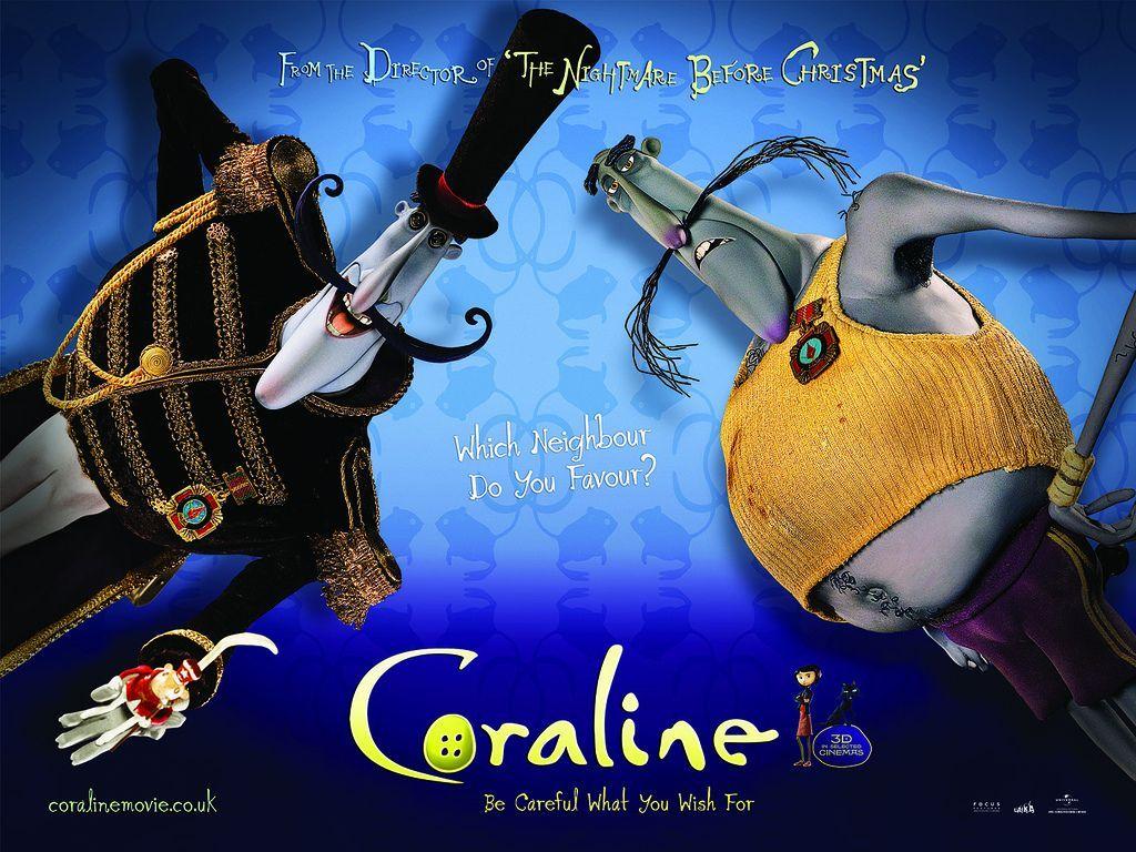 Mister B Coraline Pinterest