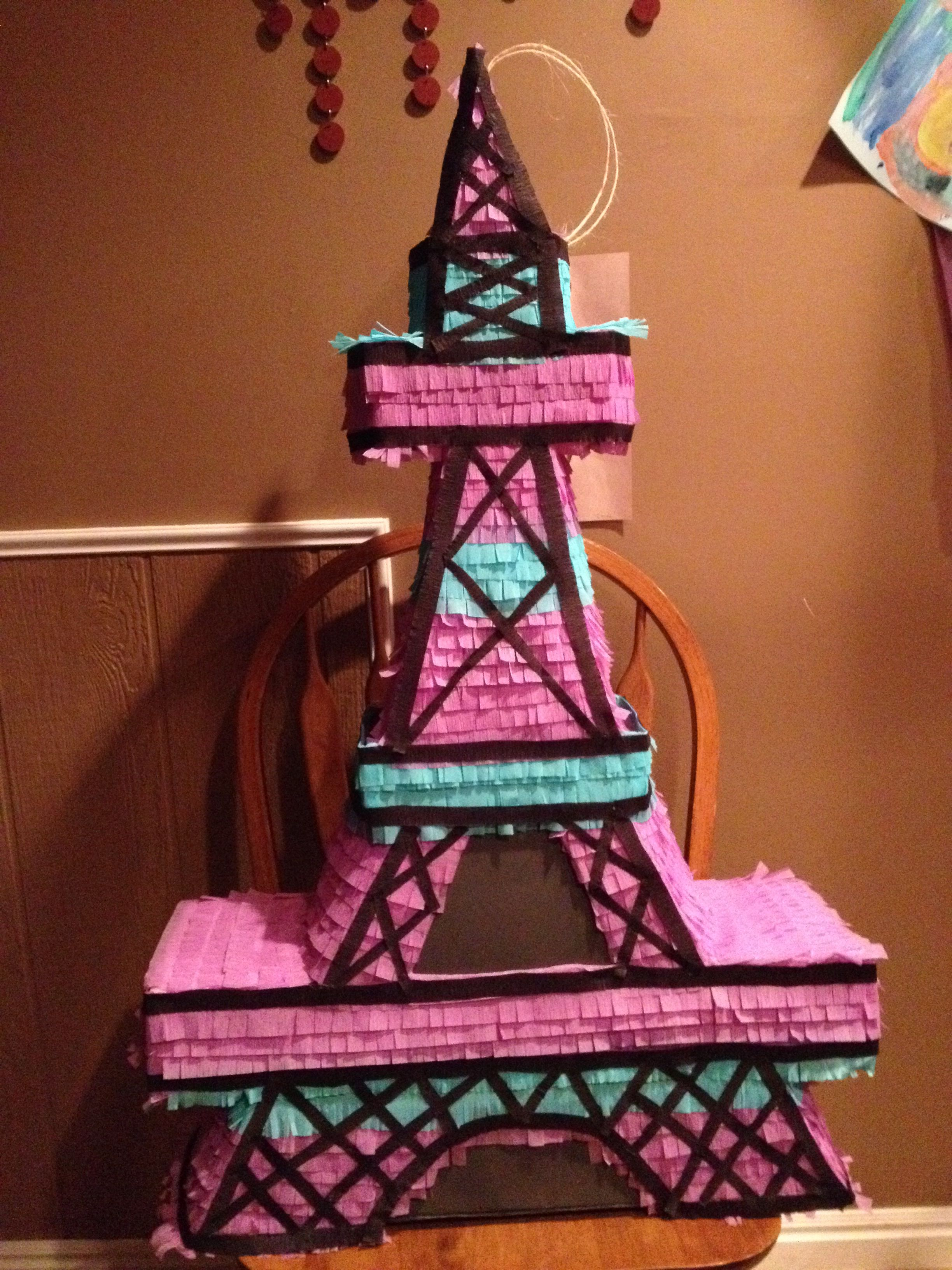 Eiffel Tower Pinata