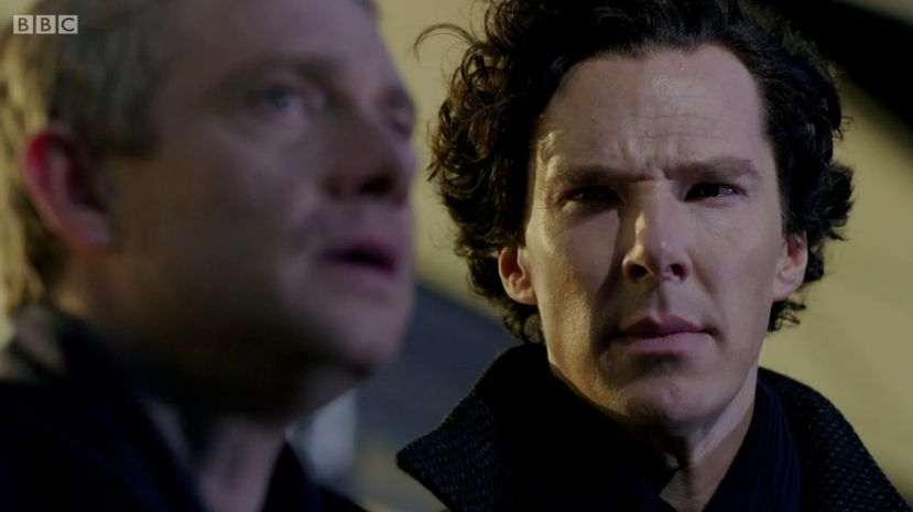 Image result for sherlock looking at john his last vow