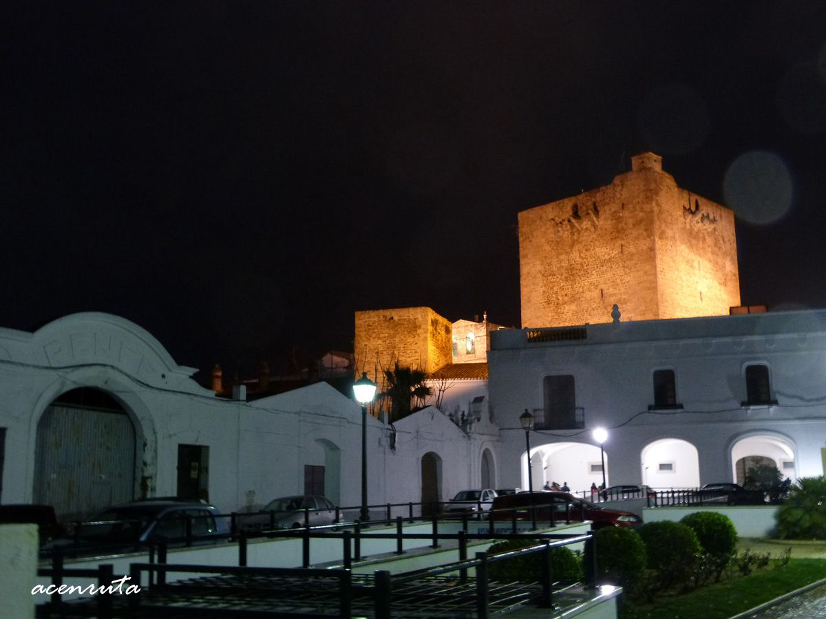 Olivenza. Vista nocturna
