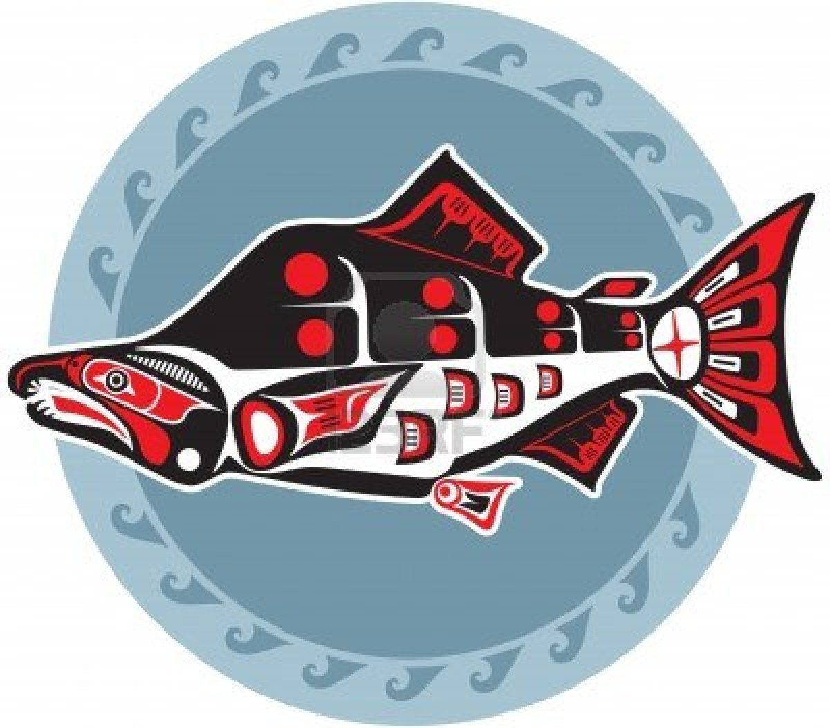 Northwest Native American Orca Art
