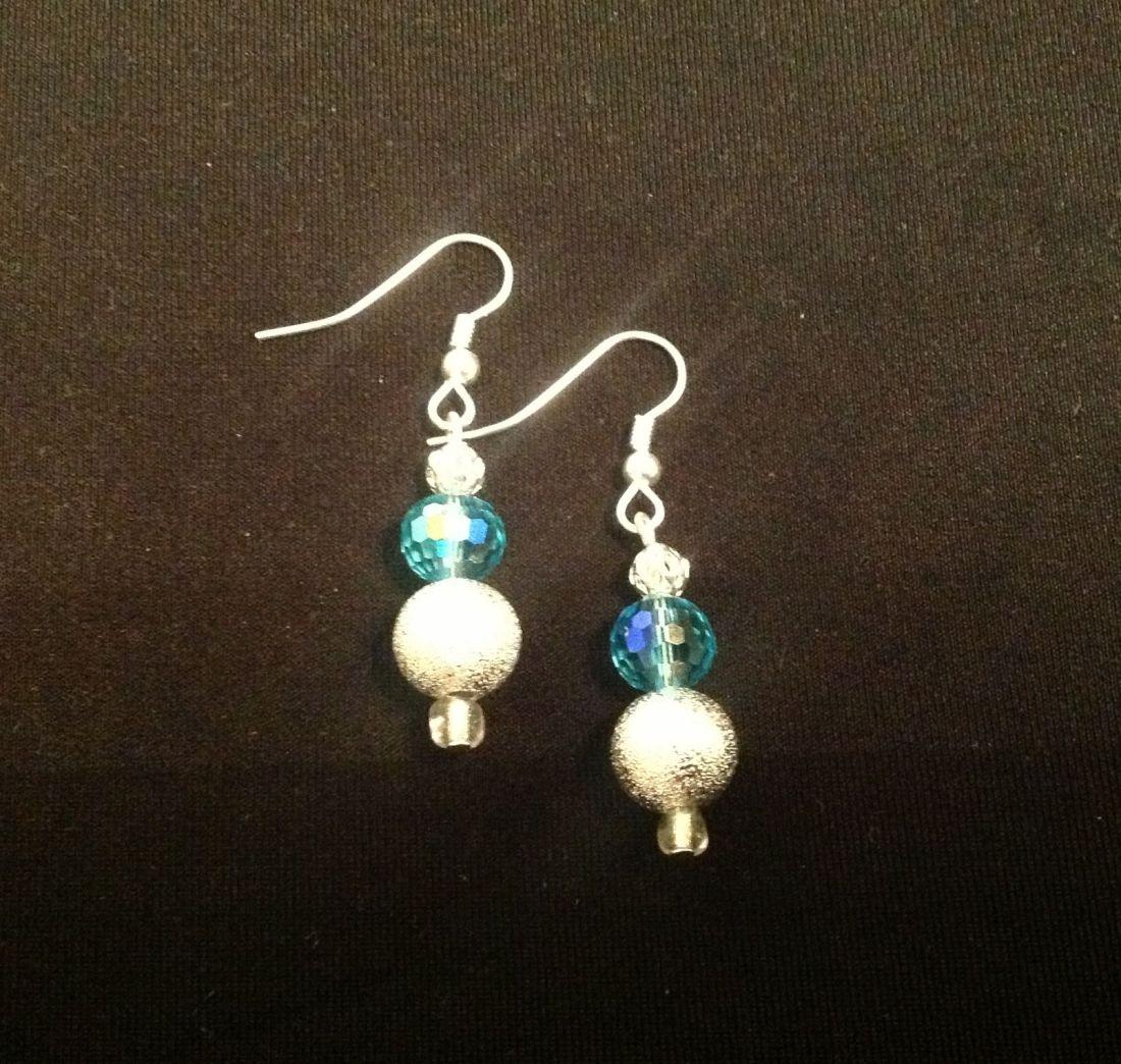 Easy diy beaded earrings crafts pinterest