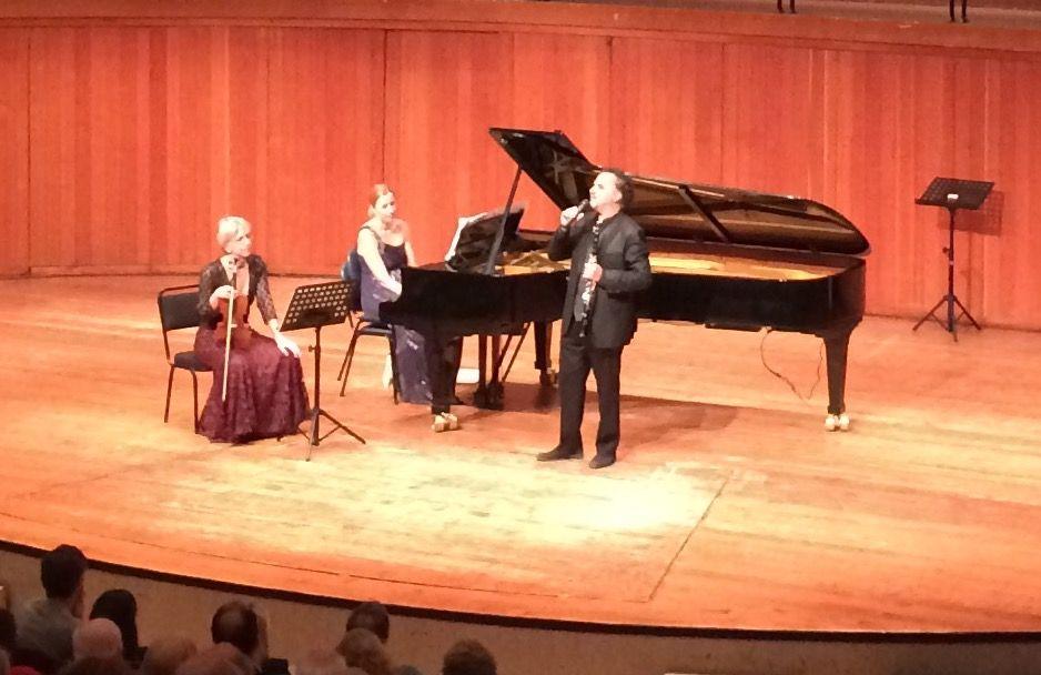 David Krakauer, Kathleen Tagg, Suzanne Martens at the Baxter, Brahms, Janecek, Messiaen, Debussy, Klezmer, Cape Town Concert Series