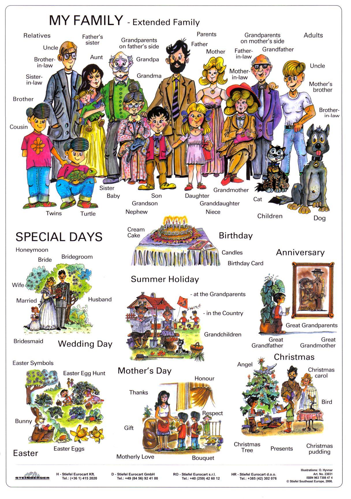 Vocabulary Families And Esl