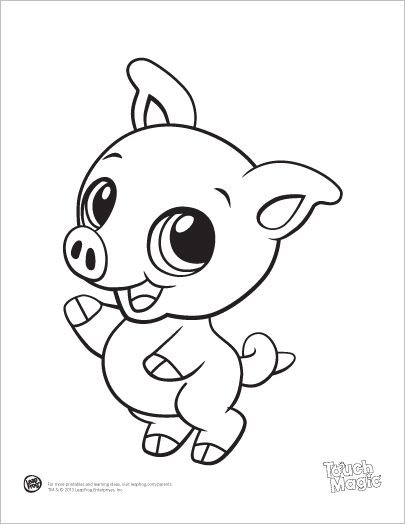 cute baby animal color pages baby animal coloring pages