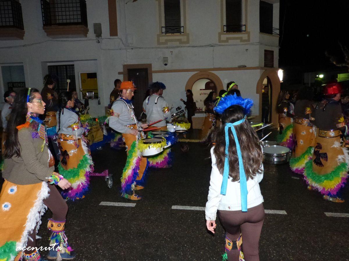 Olivenza. Carnavales 2014. Desfile nocturno