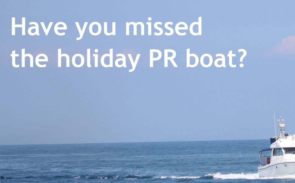 pressme: Have you missed the holiday PR boat?