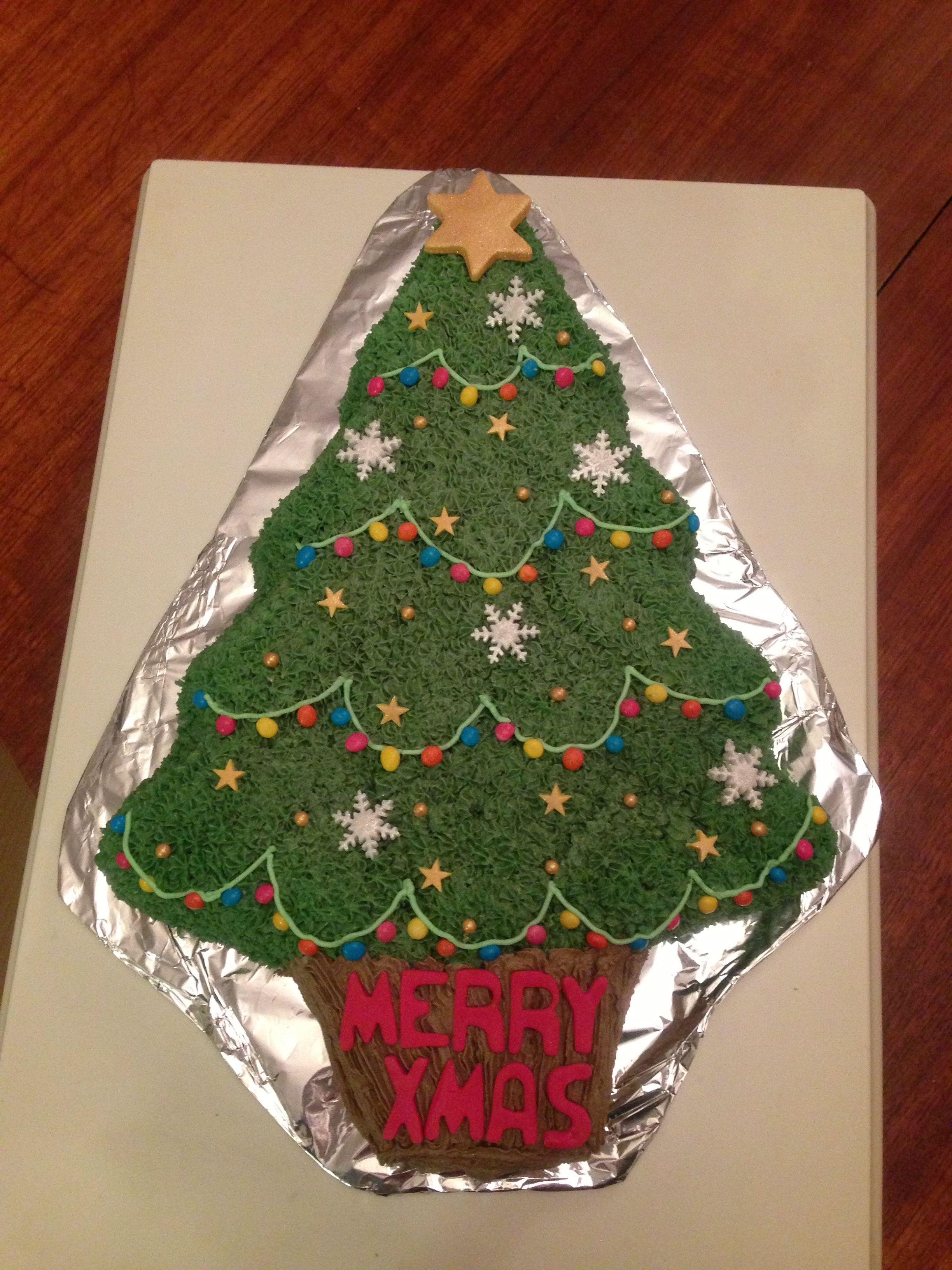 Wilton Christmas Tree Cake
