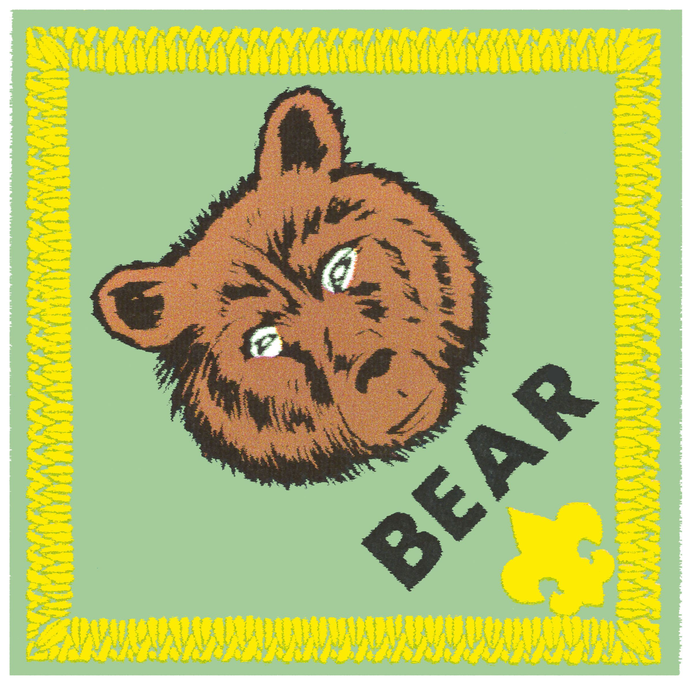Cub Scout Bear