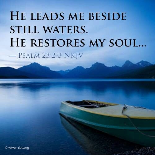 Psalm 23:2,3