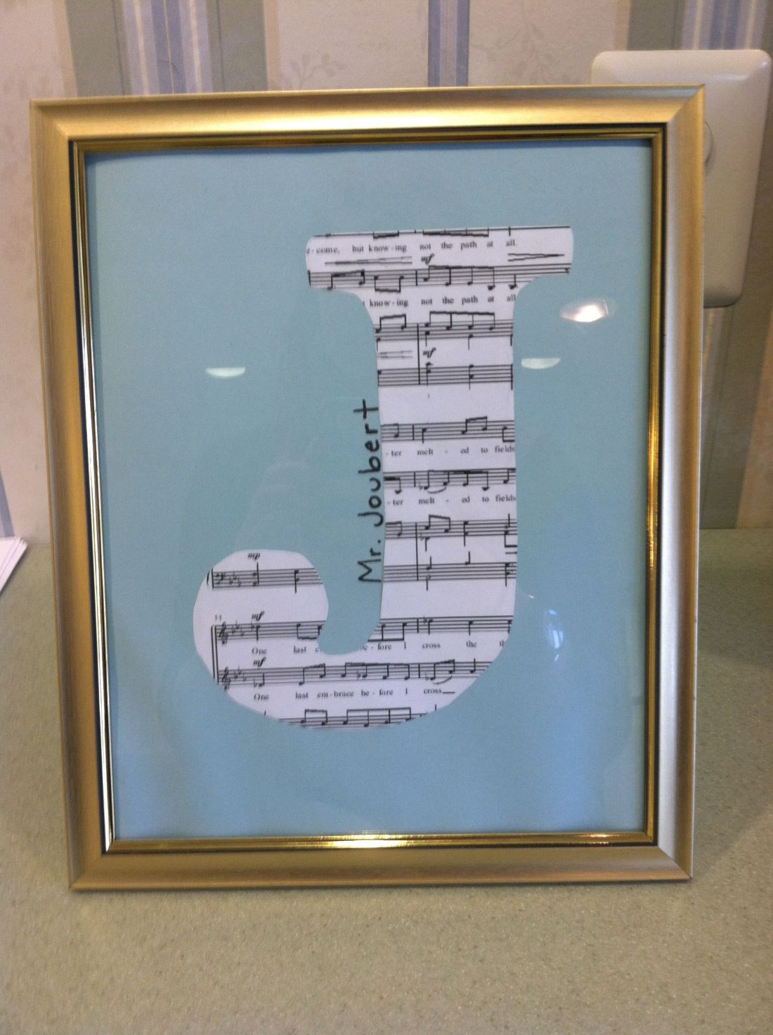 End of the year music teacher gift ideas crafts