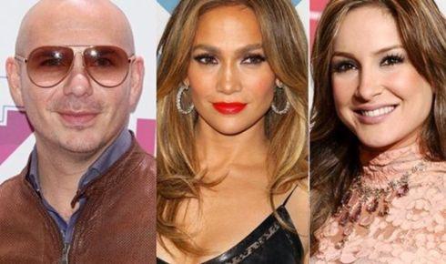Pitbull y Jennifer Lopez cantarán el himno oficial del Mundial 2014 de fútbol