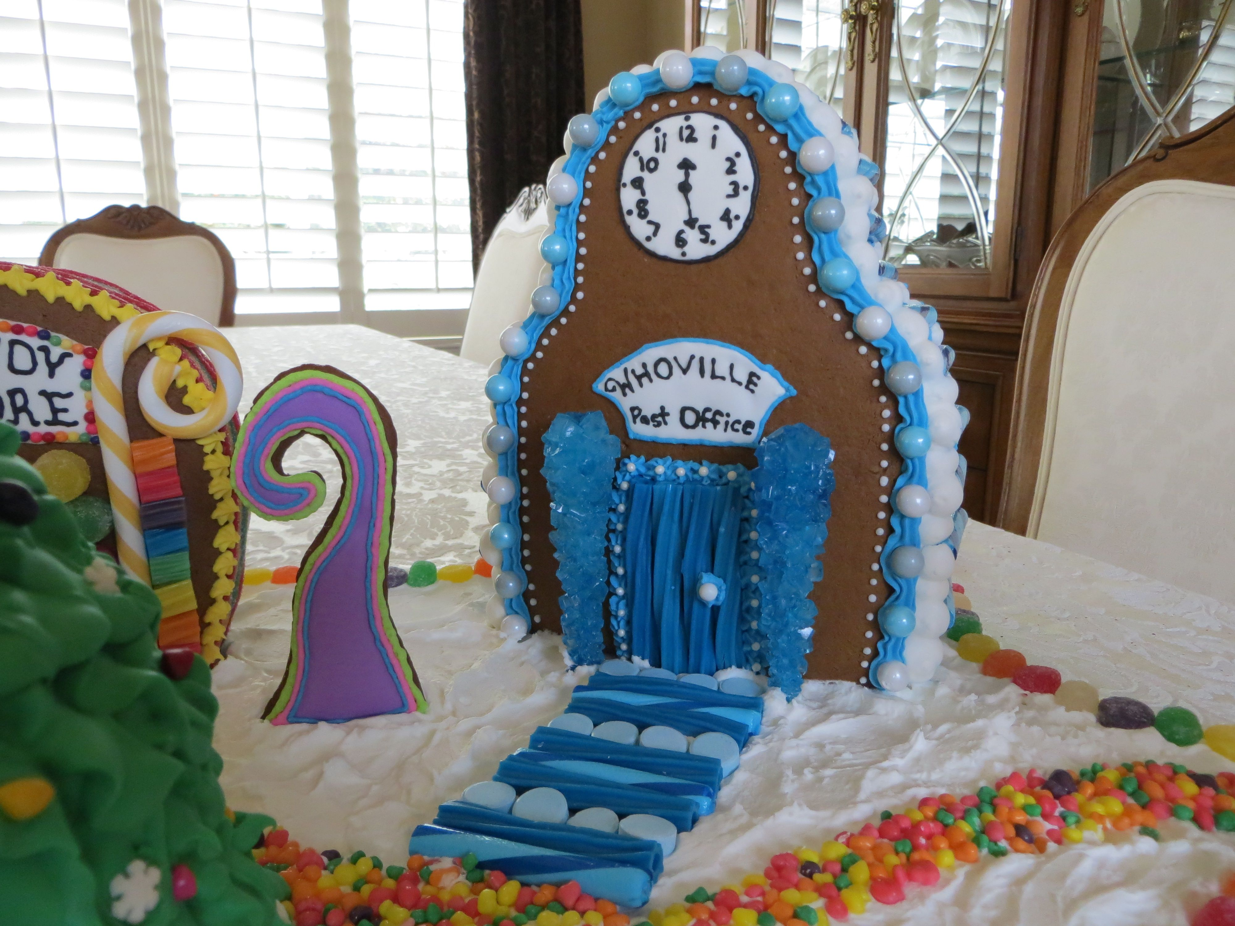 Whoville Gingerbread House Village