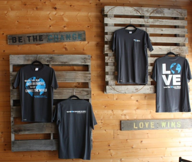 Displaying our new tshirts display ideas pinterest