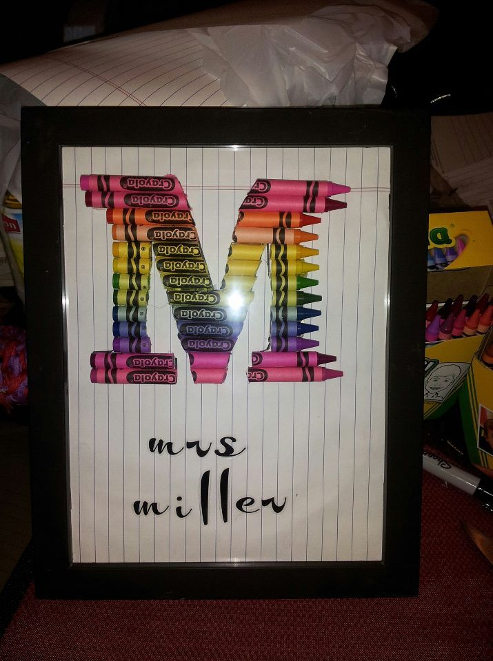 1000 Images About Teacher Gifts On Pinterest Crayon