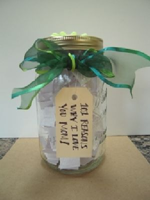 50 Jar Gifts Idea 21 I Love You Jar Telling Family Tales