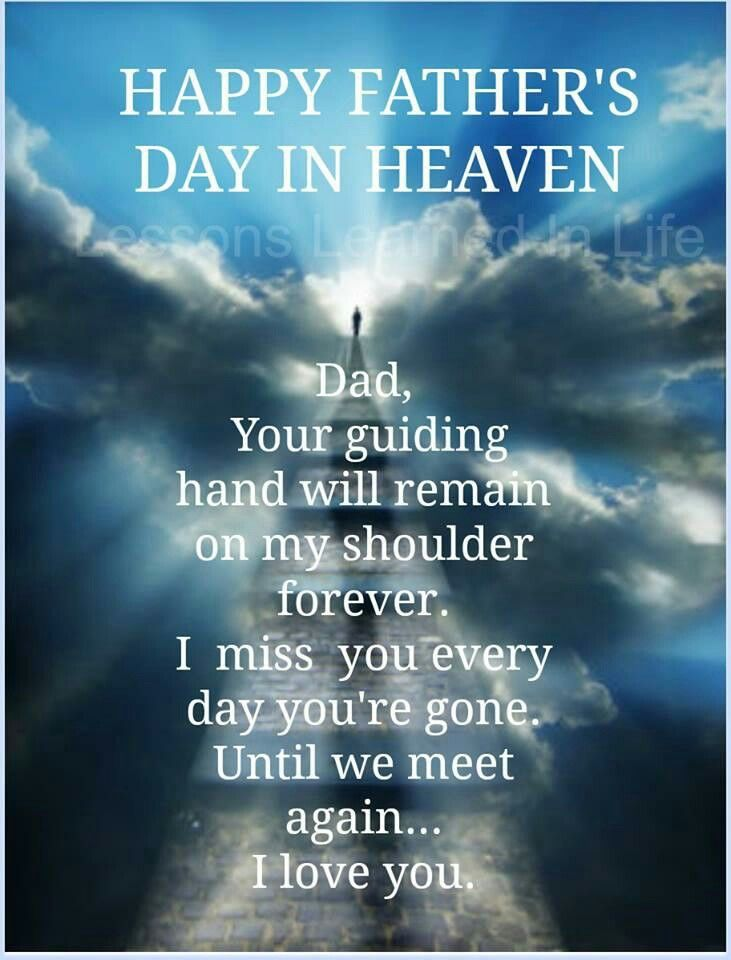 Missing My Dad In Heaven Quotes QuotesGram