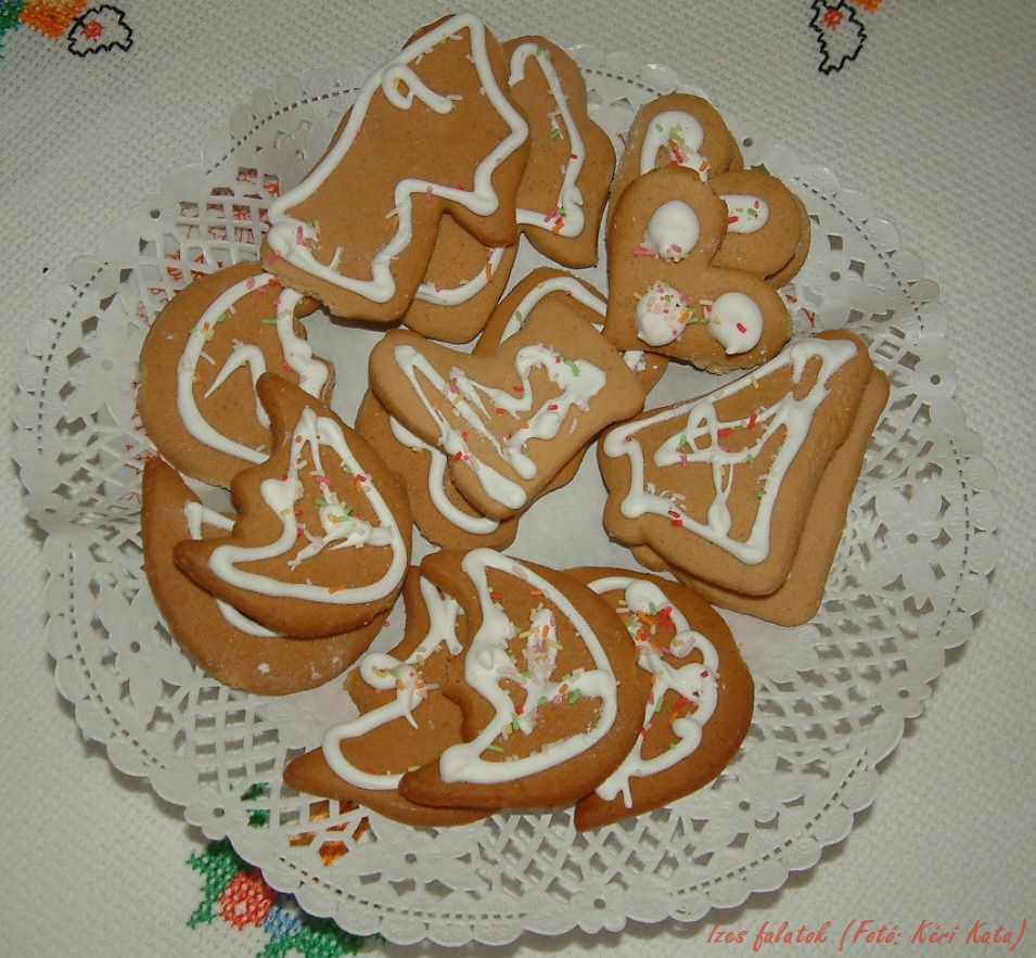 Karácsonyi mézeskalács (Fotó: Kéri Kata)
