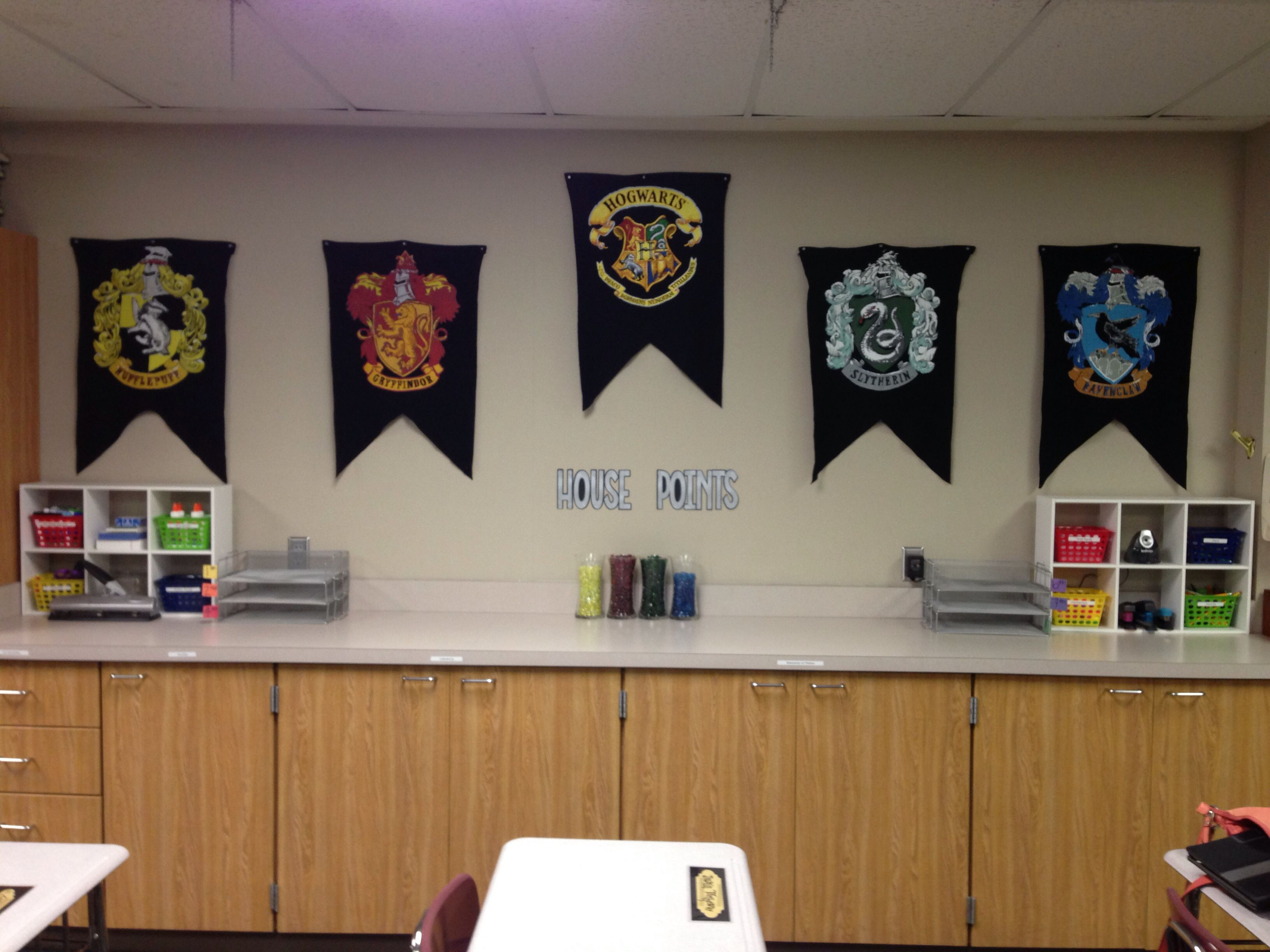 Harry Potter Classroom Classroom Houses