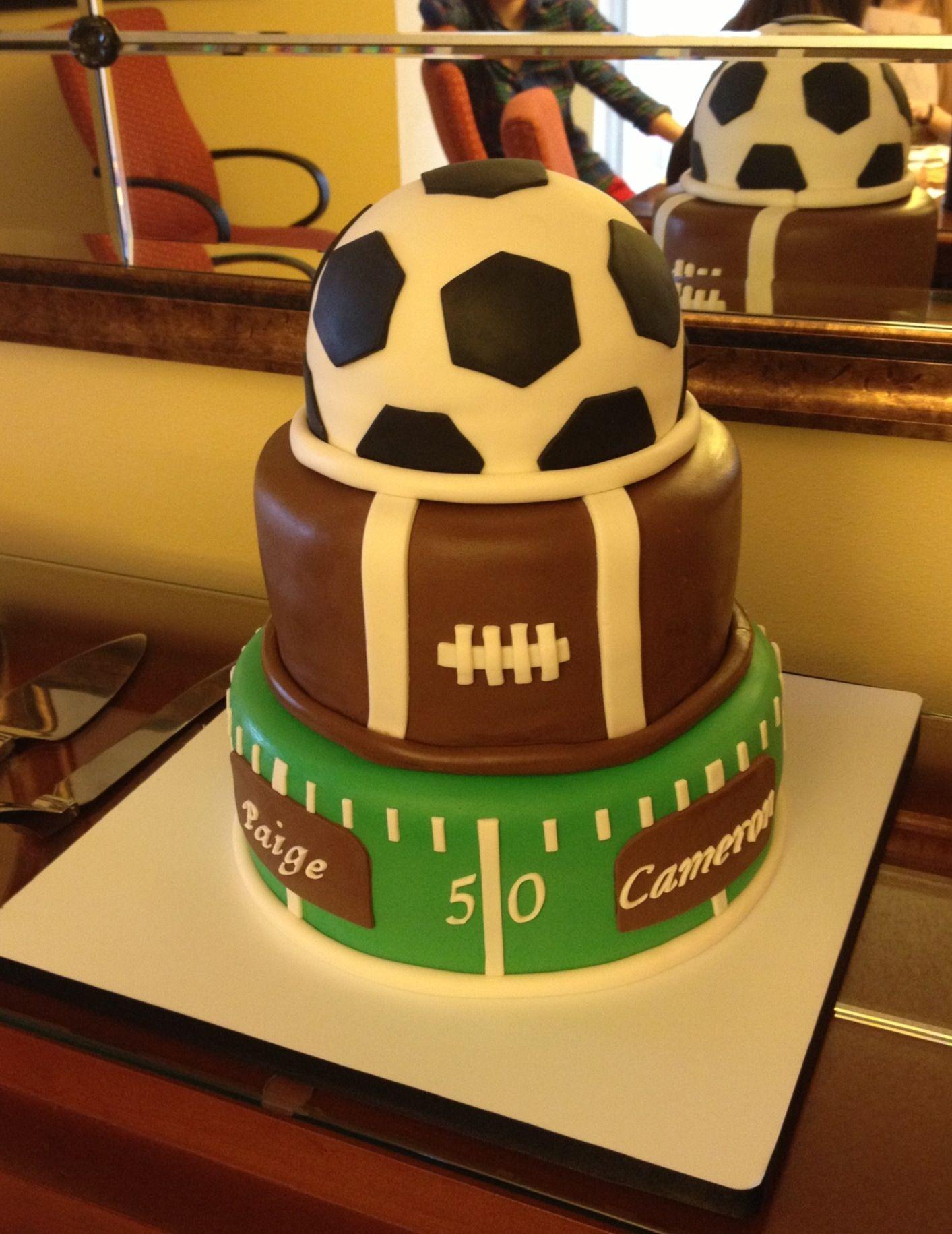 Sports Cake Ideas Images