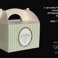 Bakery and Confectionery Packaging Boxes for Cakes, Cupcakes and Macarons