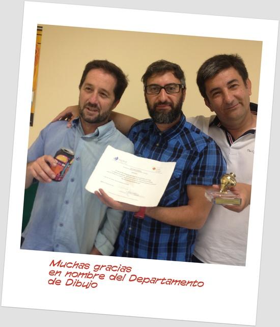 Los miembros del nuestro departamento de Dibujo curso 2013/14