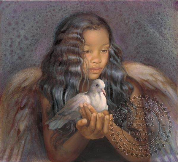 Angel of Forgiveness by Nancy Noel