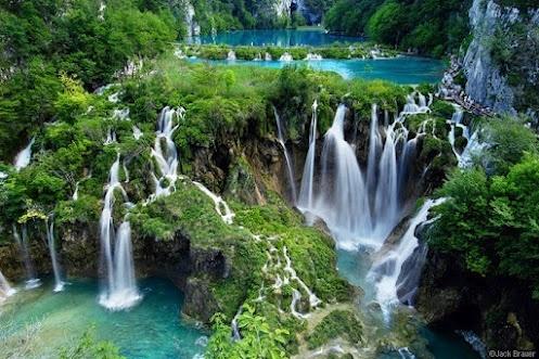 Il Parco nazionale di Plitvice in Croazia - questo sembra magico