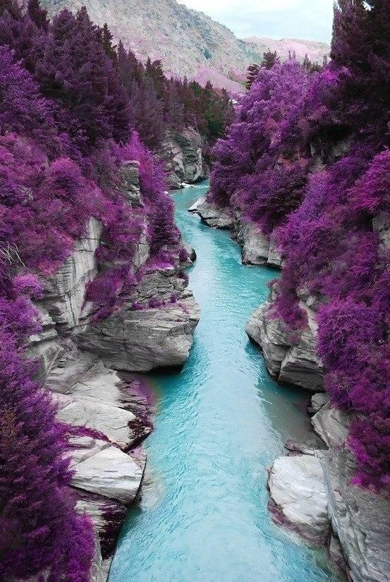 Le piscine delle fate dell'Isola di Syke, Scozia.