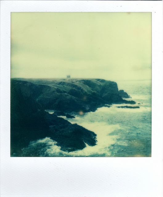 Ocean-bound by emilie79*, via Flickr #ocean #cliff #sea #beautiful #polaroid
