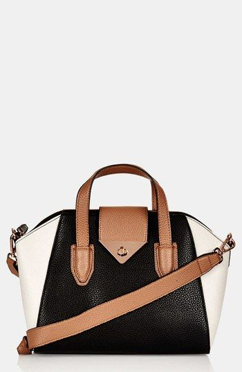Topshop 'Evian - Mini' Satchel available at #Nordstrom