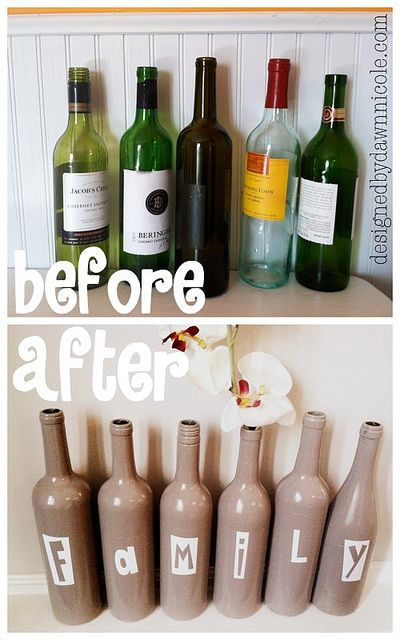 From wine bottles to word art