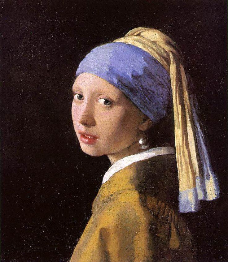 ❥ La ragazza con l'orecchino di perla ~ Jan Vermeer