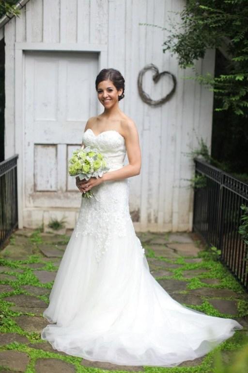 Avera wedding dress from Bel Fiore Bridal - Primrose Cottage