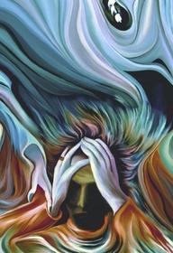 Depression Painting - Depression Fine Art Print - - Pachek