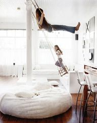 Swings. // 32 Things That Belong In Your Child's Dream Room