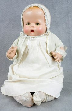 "USA, 1930-1940 ~ Love these old ""Baby"" dolls!"