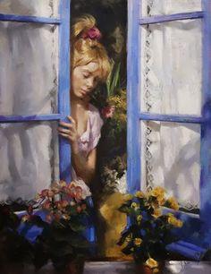 'Window Gazing'