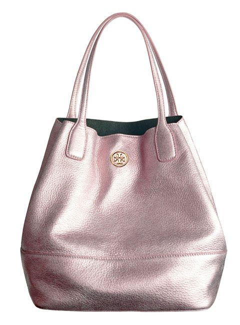 Tory Burch Michelle Tote:   way more than i spend on purses but i like this one. its pretty and does not have name brand logo thrown all over it.